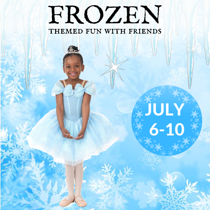 Frozen princess ,digital dance summer camp for kids, creative, ballet lessons