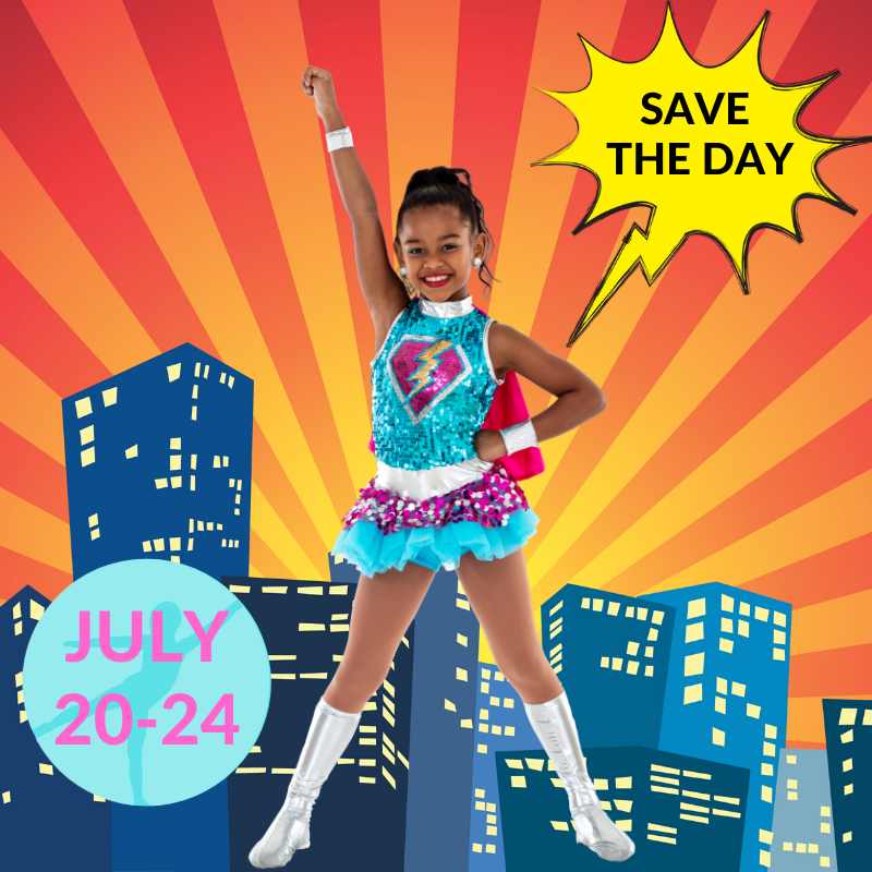 virutal, digital summer camp for kids and girls, creative, dance camps