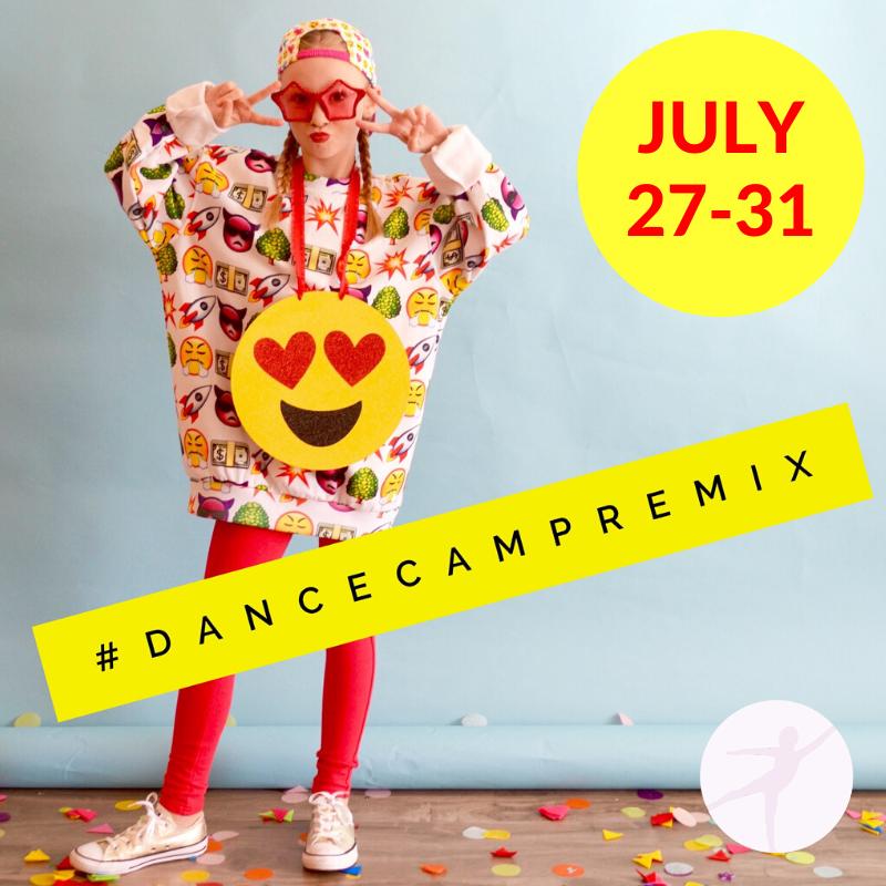 virtual camp for kids, summer digital creative dance camp