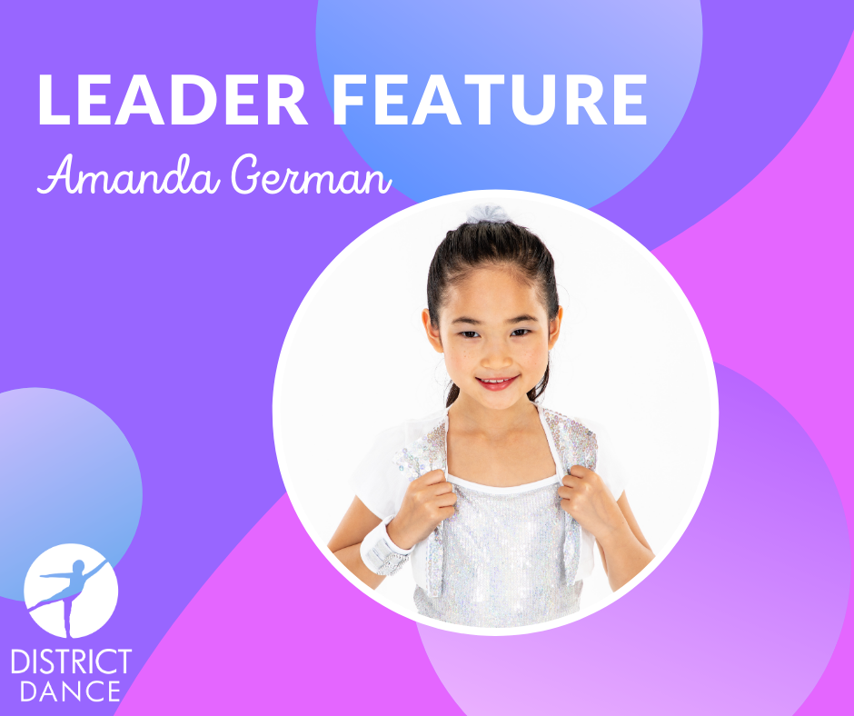 Amanda Posing for her Leader Feature Post!